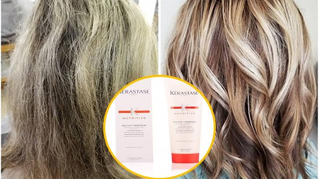 Protege tu cabello del calor con el protector térmico Kerastase