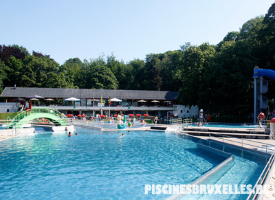 piscine extérieure Bruxelles Huizingen