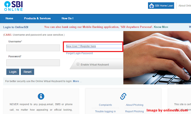 SBI internet banking online apply | New User Registration ( full guide in Hindi )