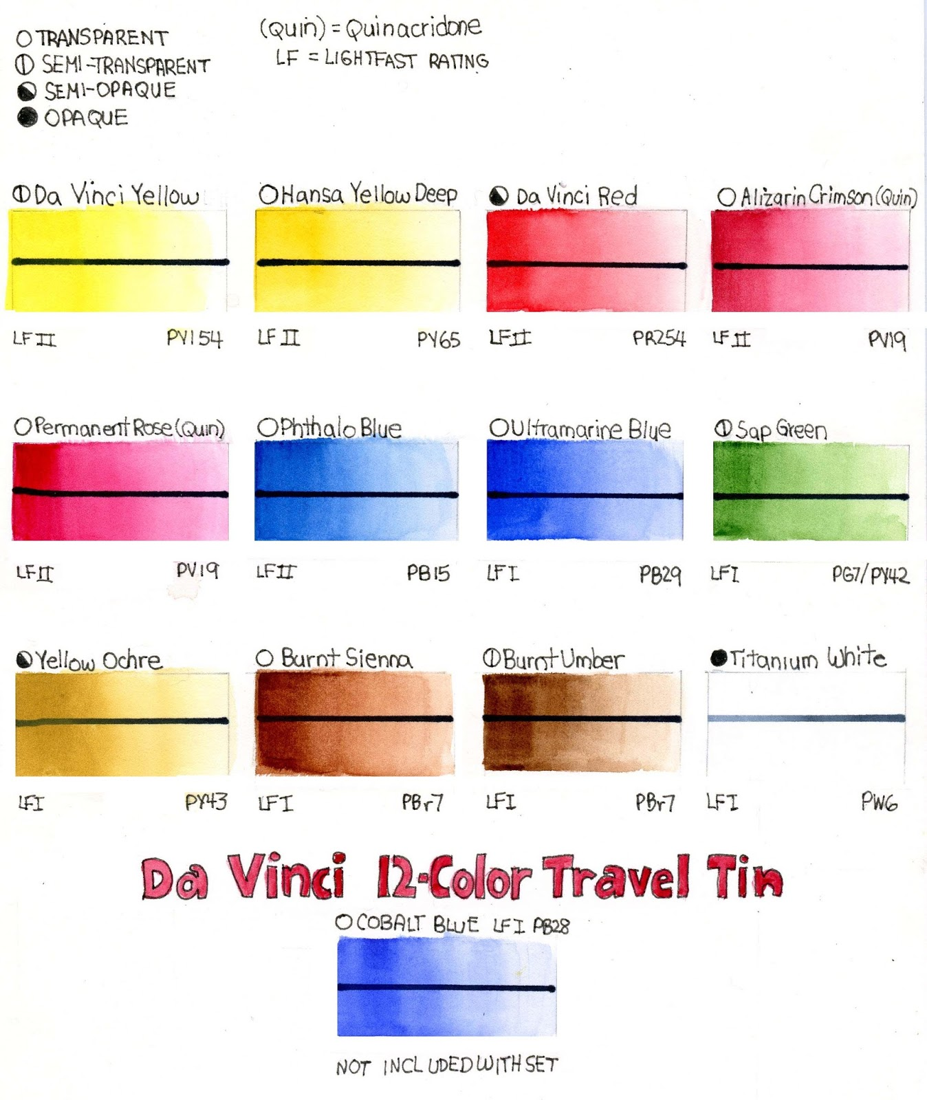 Inka gold color chart blending inka gold by viva colour series review da vinci watercolor 12 full pan travel tin davinci nvjuhfo Image collections