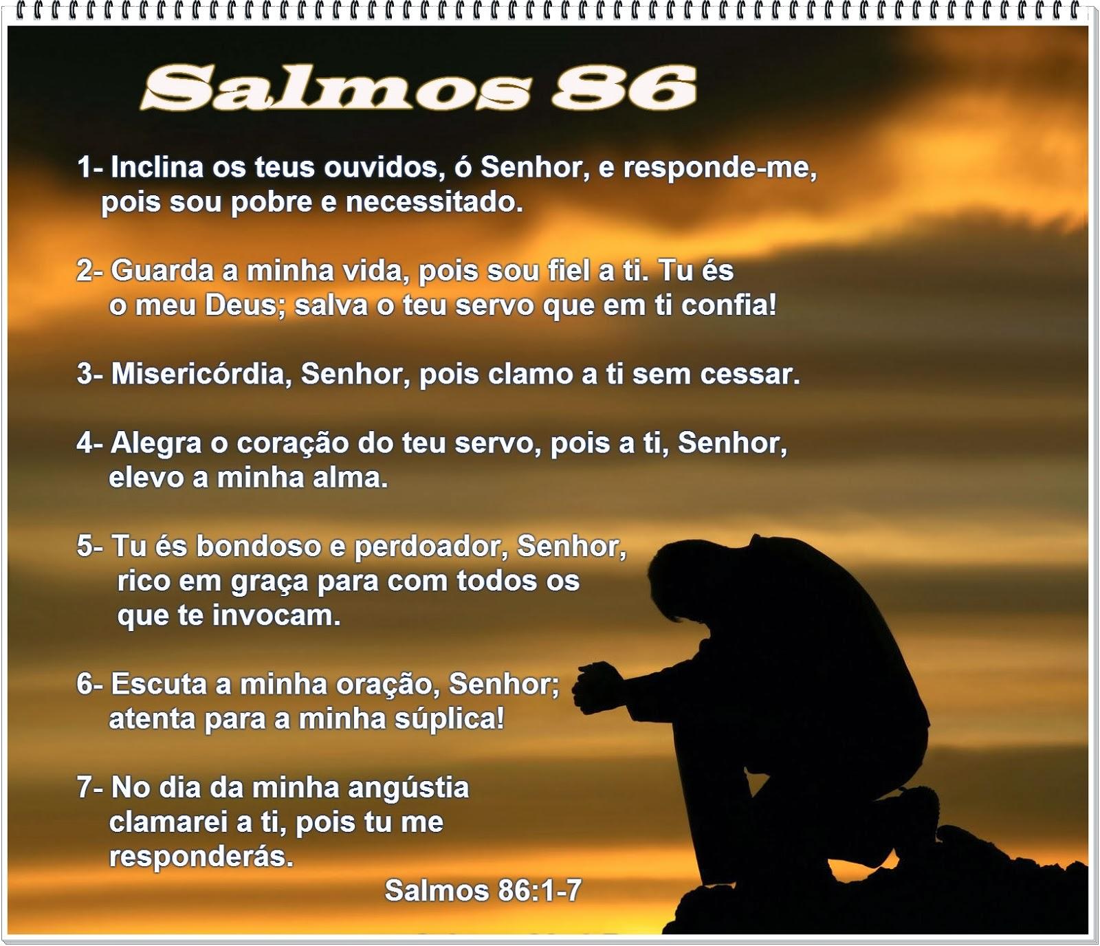Excepcional Palavra e Ação : RPSP - Salmos 86 YY58