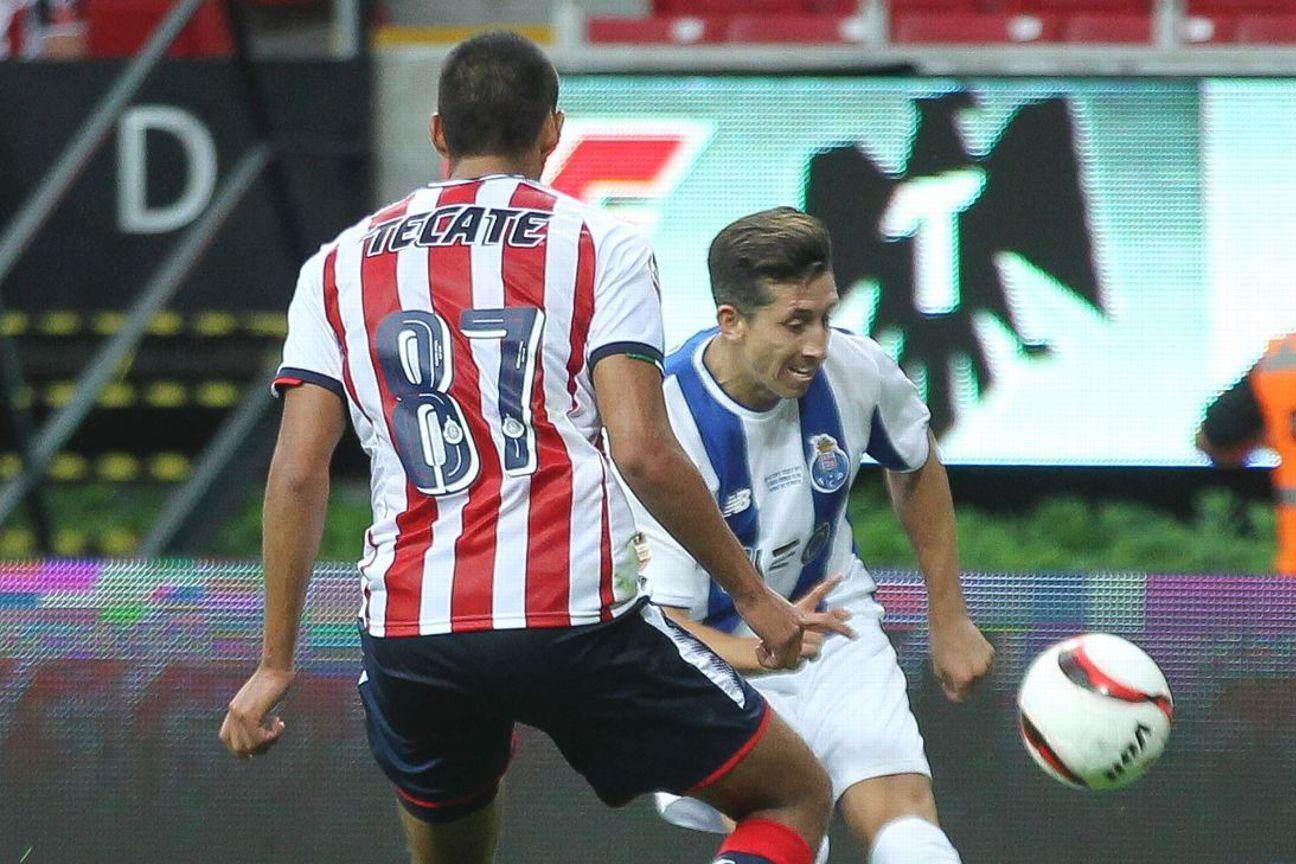 Porto y Chivas terminan empatados.