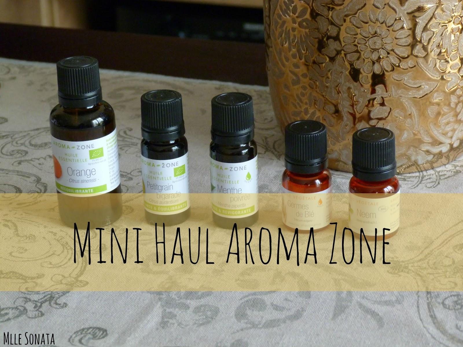 haul aroma zone huiles essentielles et v g tales. Black Bedroom Furniture Sets. Home Design Ideas