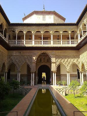 Patrimonio de la Humanidad en Europa y América del Norte. España. Reales Alcázares de Sevilla.