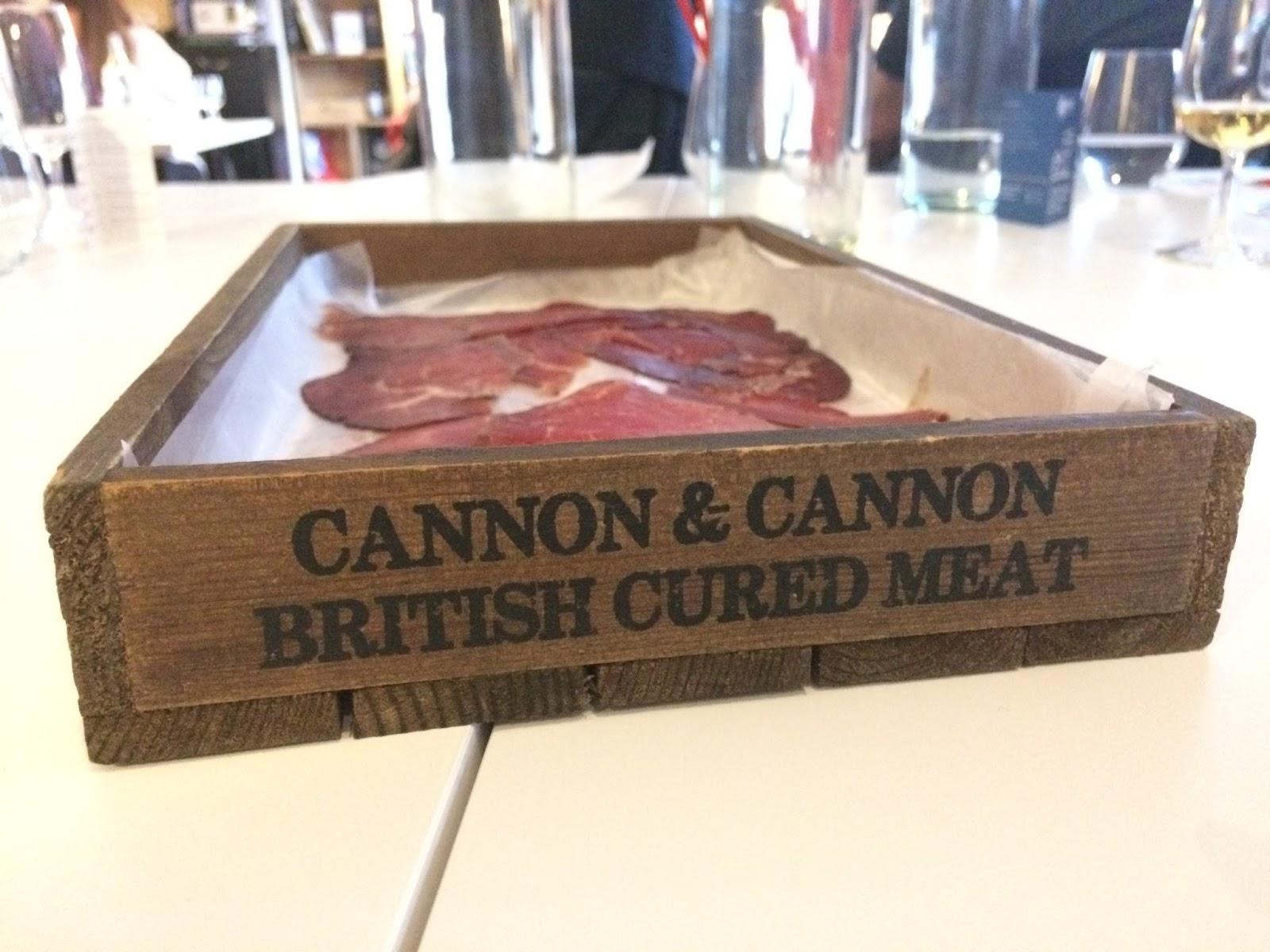 Cannon & Cannon charcuterie platter