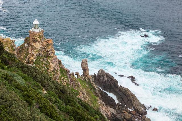 Nuevo faro de Cape Point, Península del Cabo, Sudáfrica