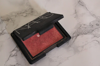Rose-gold blusher nars