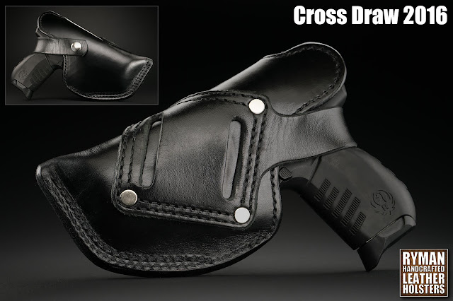 superior quality leather holster by Ryman Holsters