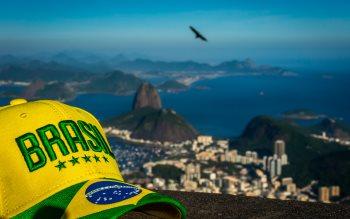 Wallpaper: Greetings from Rio de Janeiro