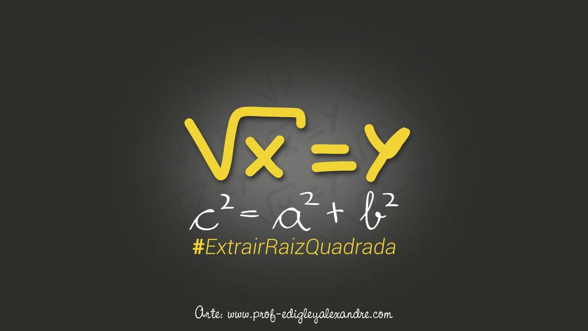 Como extrair a raiz quadrada de um número quadrado perfeito sem usar o método tradicional da fatoração?