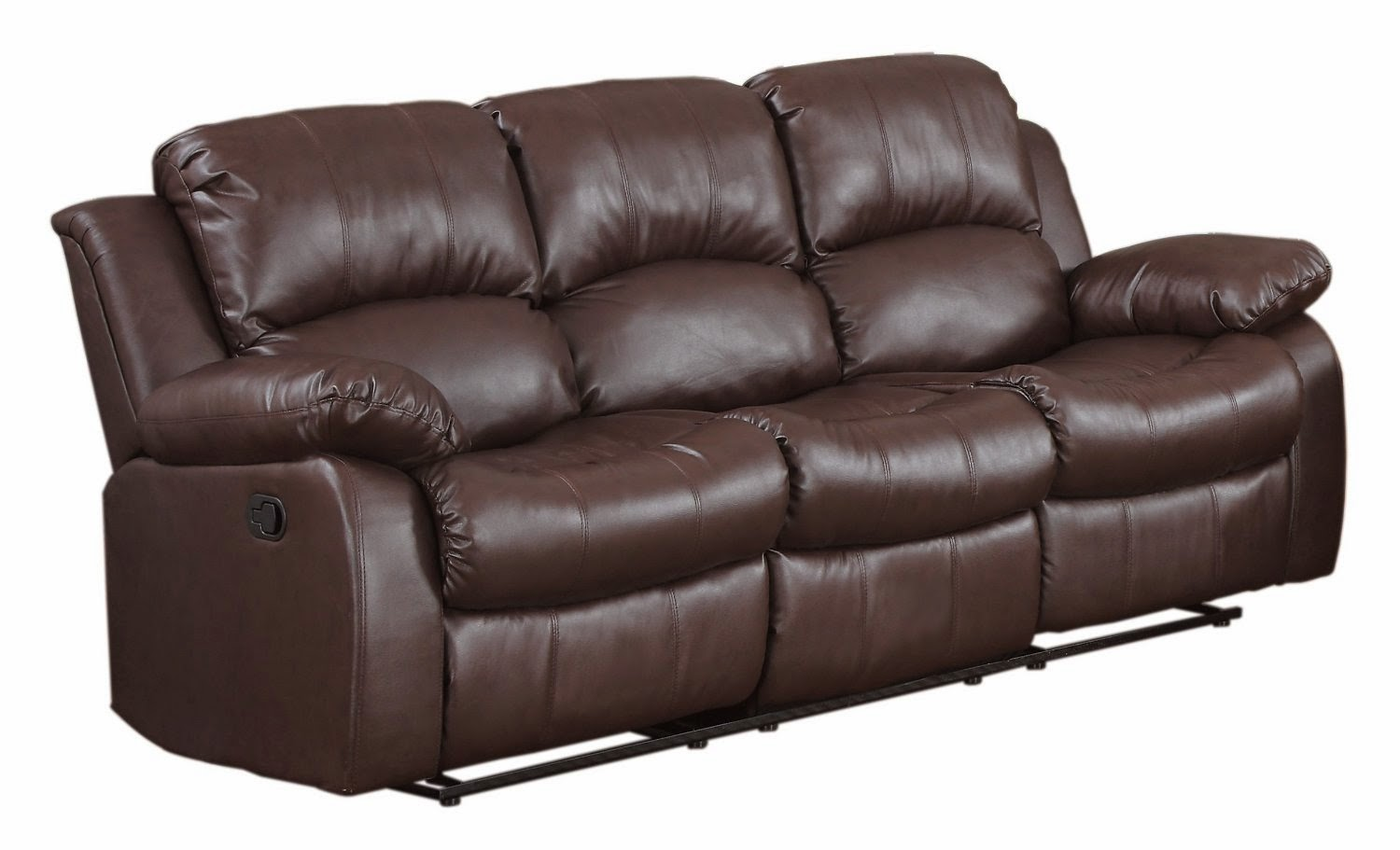 Homelegance 9700brw 3 Double Costco Leather Reclining Sofa Set