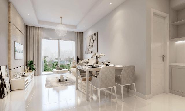 Phòng khách chung cư Xuân Mai Thanh Hóa