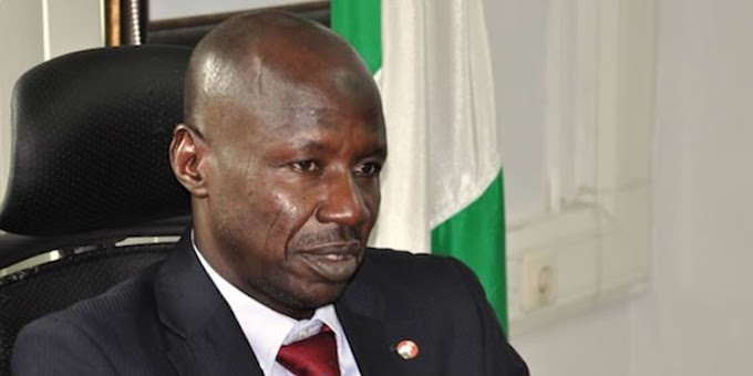 There are corrupt elements in EFCC, says Magu