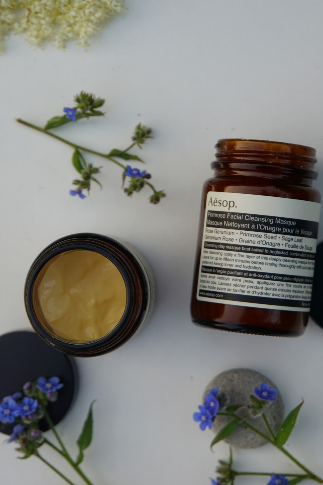 Aesop Camellia Nut Facial Serum Cream Jar