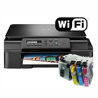 How to connecting for brother printer to wifi networking?
