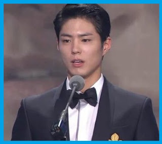 Park Bo Gum at 2015 KBS Drama Awards