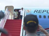 Presiden Jokowi Mudik Pakai Pesawat Kepresidenan, Netizen 'Nyinyir'. Simak!
