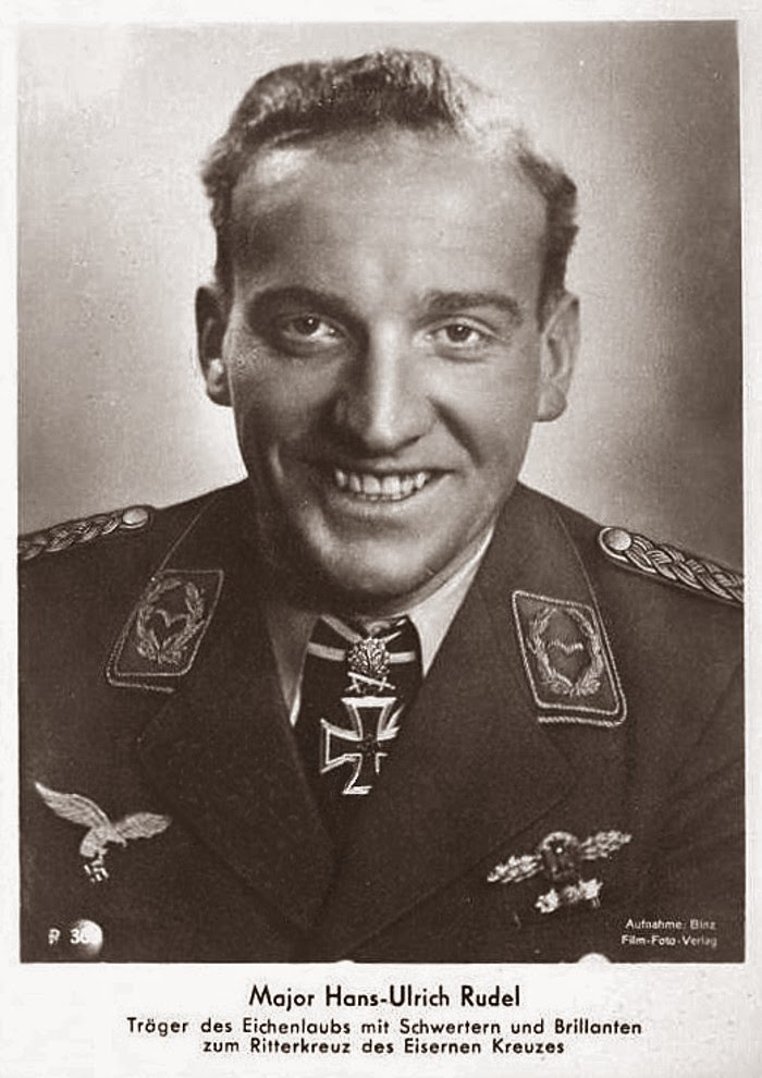 Hans-Ulrich Rudel Ritterkreuzträger Knight Cross Holder Postcard