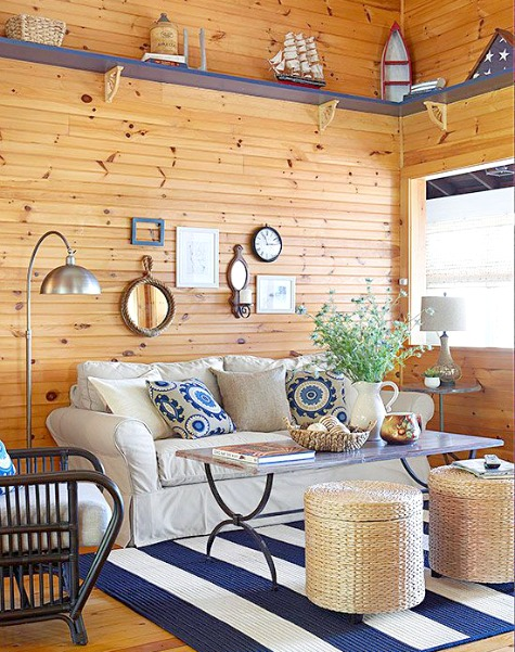 Small Nautical Living Room Ideas