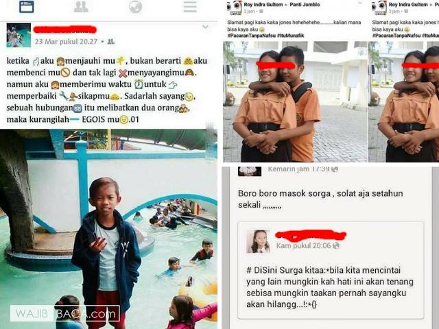 Akibat Sinetron Cinta-Cintaan, Lihat 12 Kelakuan Bocah SD di Medsos ini yang Membuat Kita Prihatin