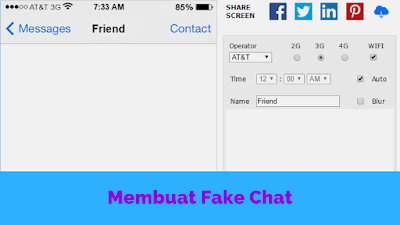 Fake Chat kayak iPhone