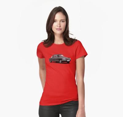 Citroen DS t-paidat naisten