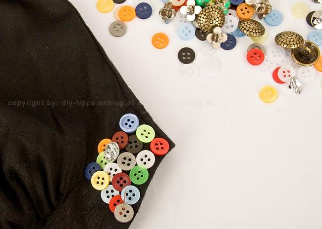 personalizar una prenda con botones