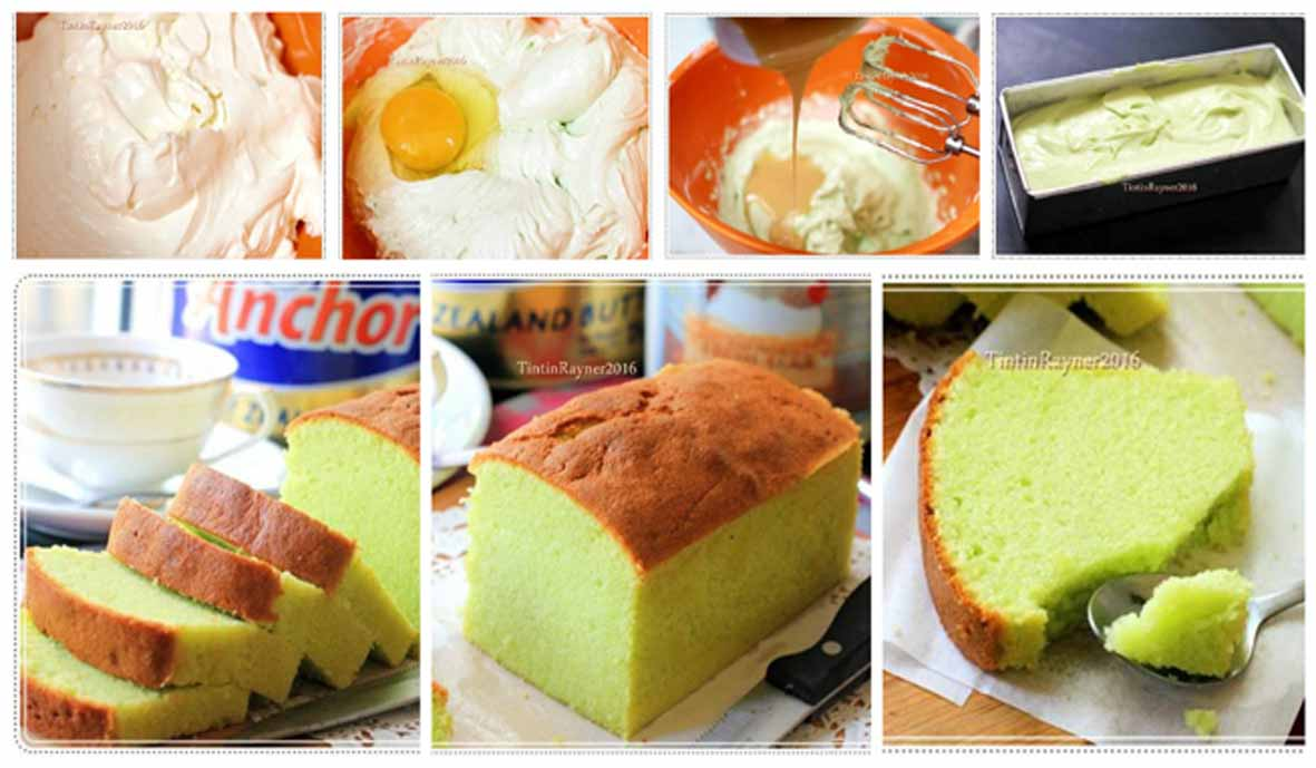 Pandan Cake Susu Kental Manis