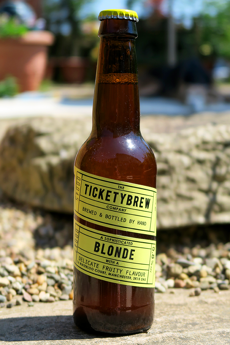 TicketyBrew Blonde from The Beer Isle June Subscription Box - North West England