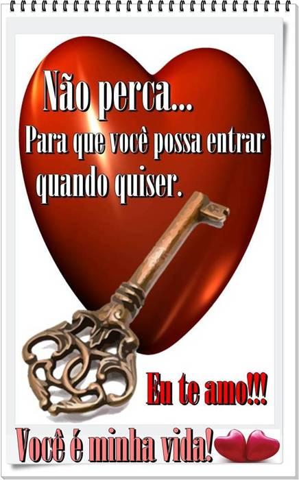 Você tem a chave do meu coração