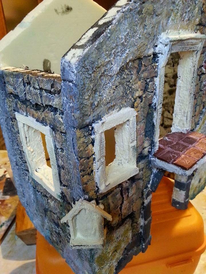 Come costruire un presepe come creare una vecchia for Creare case