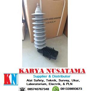 Jual Lightning Arrester polymer 24KV 10KA di Sumatra