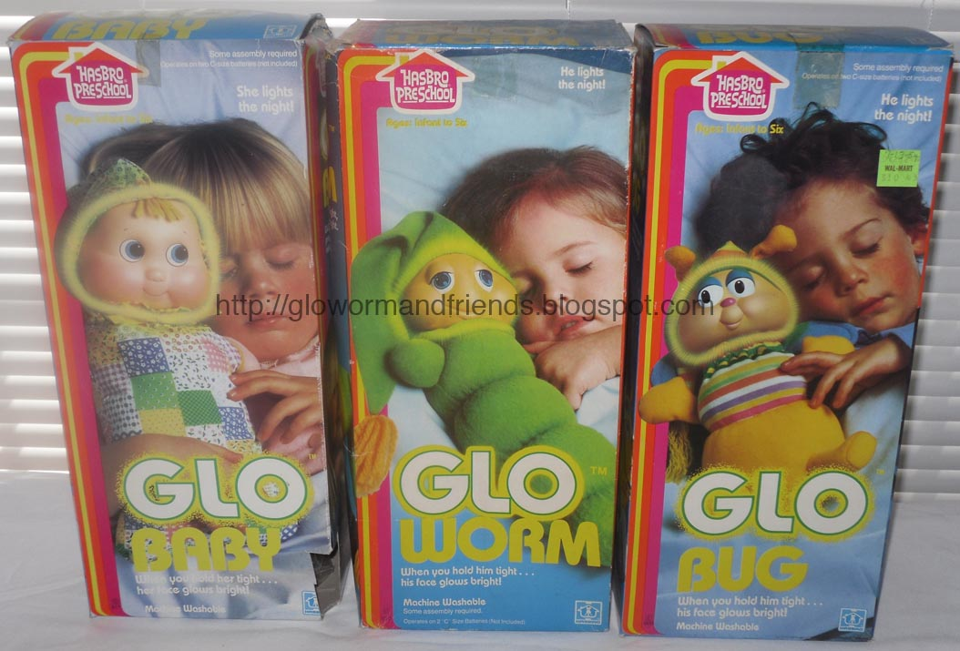 DOLLS MIB - Light-Up Plush - GLO WORM GLO BABY GLO BUG  sc 1 st  1980s Glo Worm and Glo Friends Toys and Collectibles & 1980s Glo Worm and Glo Friends Toys and Collectibles: DOLLS MIB ...
