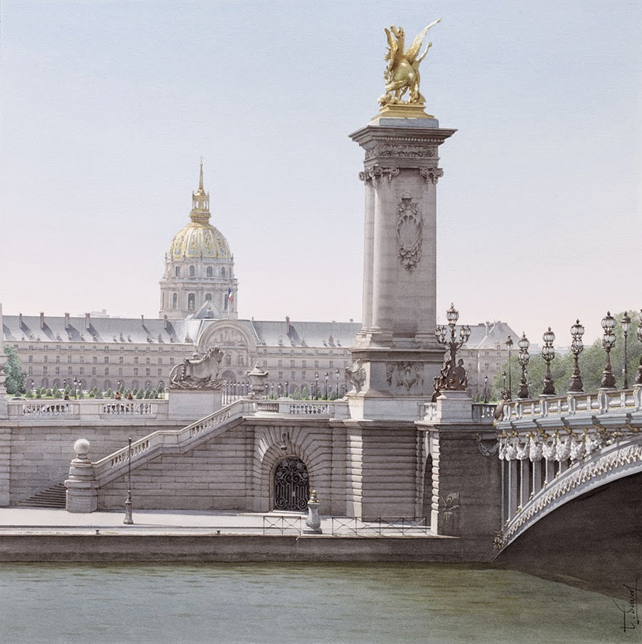 10-Alexandre-III-Thierry-Duval-Snippets-of Real-Life-in Watercolor-Paintings-www-designstack-co