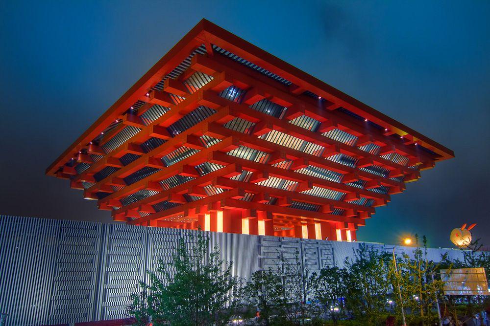 China Pavilion at Expo 2010
