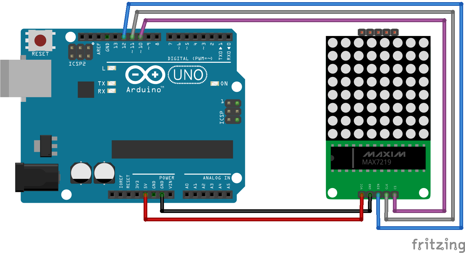 Controlling RGB Matrices with Arduino - SparkFun Electronics