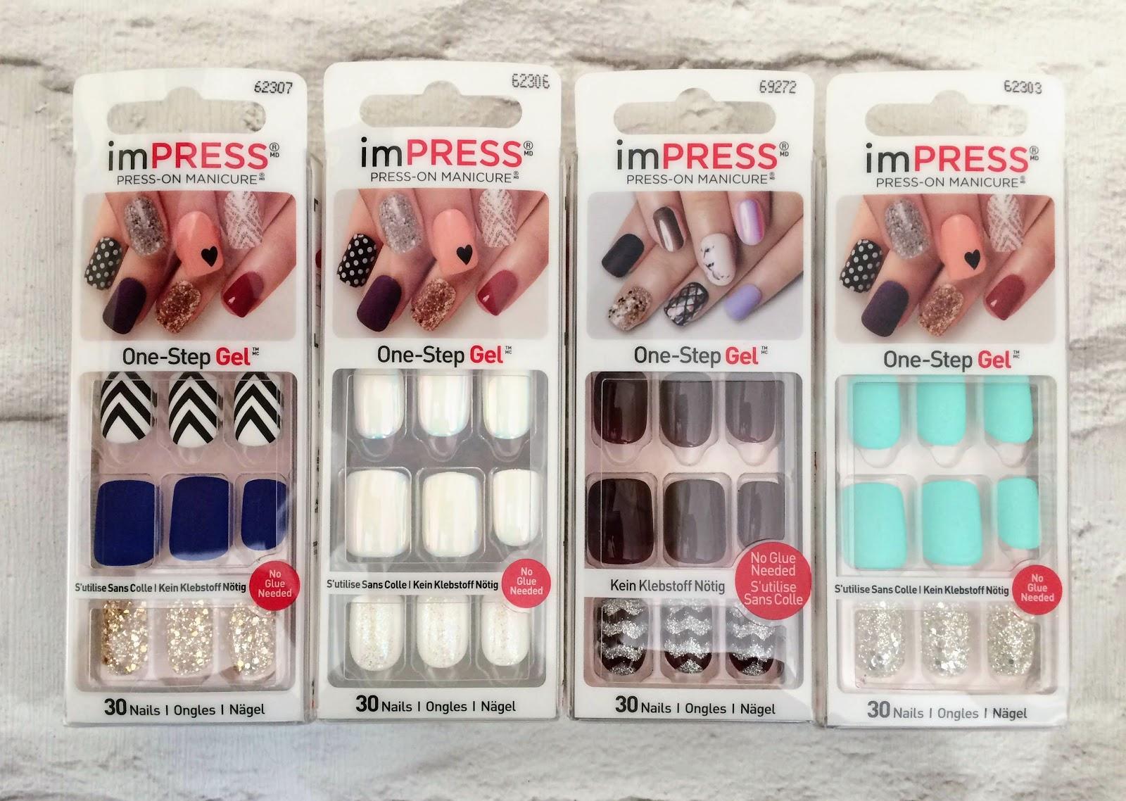 KISS imPRESS press-on manicure