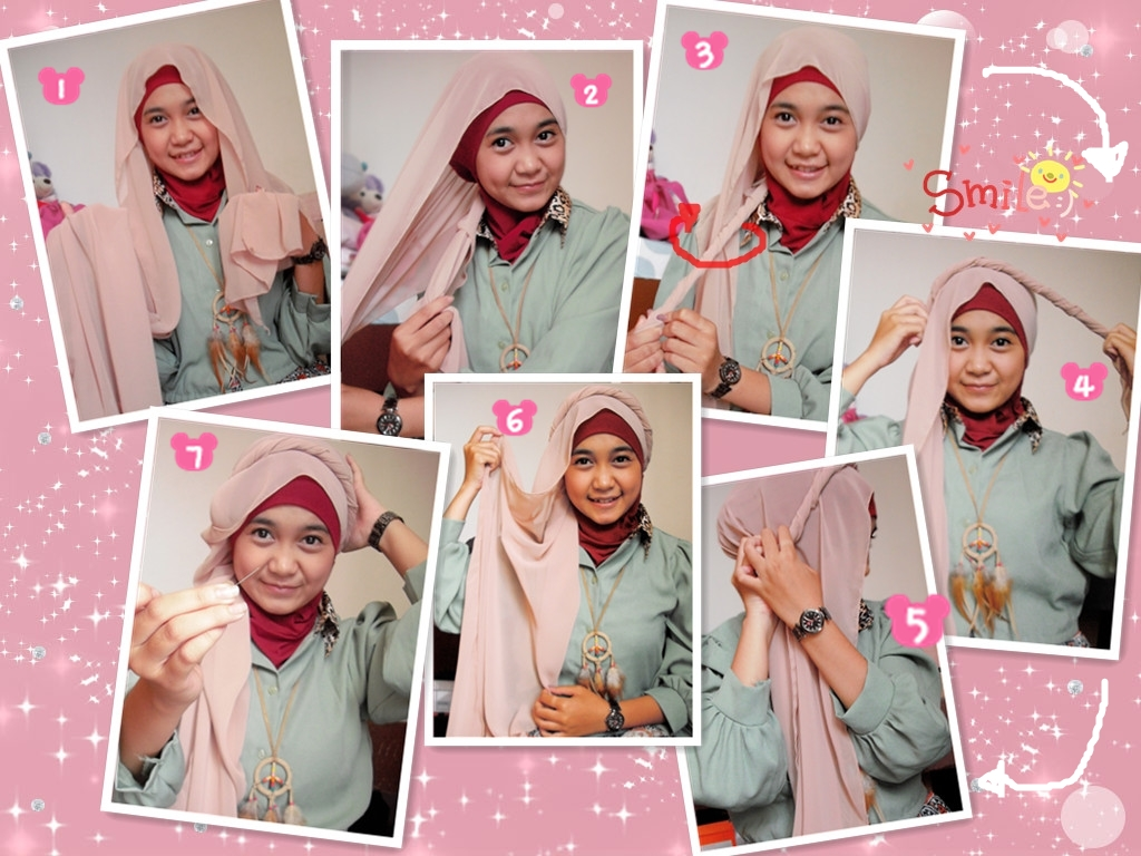 18 Cara Pakai Kerudung Pasminah Umama Tutorial Hijab Terbaru