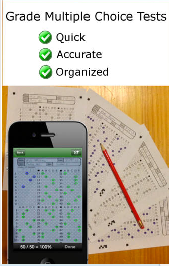 zipgrade a good grading app for teachers educational technology
