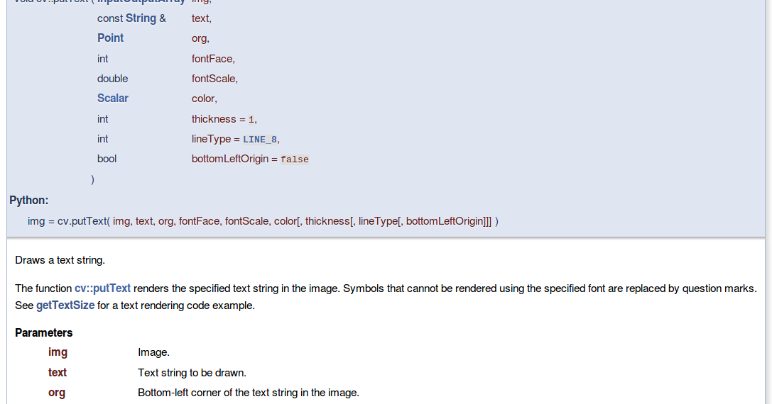 OpenCV - Tutorial [4] - Add Text to the Image    Ryan's Blog