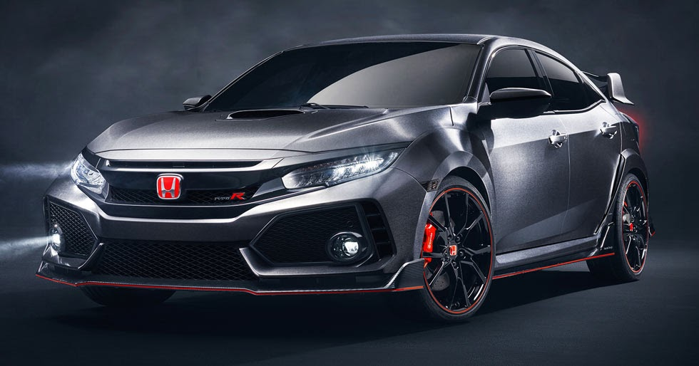 2018 honda civic type r prototype is the one coming to u s. Black Bedroom Furniture Sets. Home Design Ideas