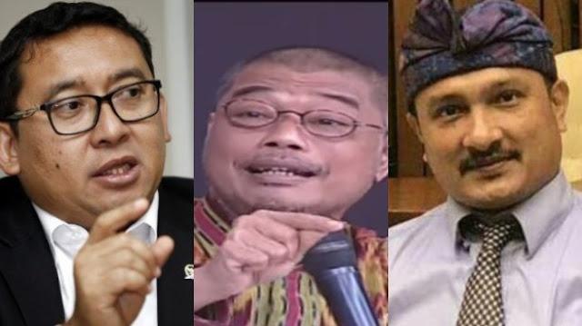 Omongan Satgas BPIP soal Pancasila di ILC Jadi Tertawaan Fadli Zon dan Ferdinand