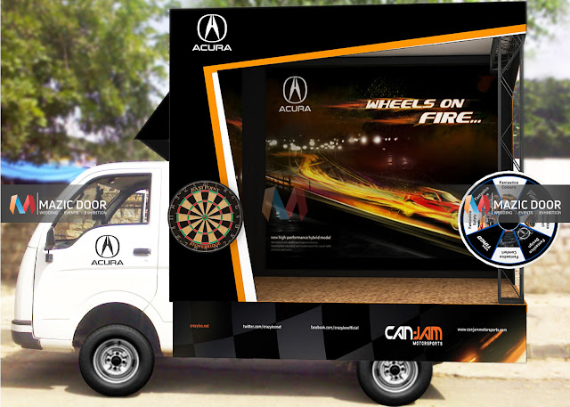 Road Show Canter Advertisement Design 2