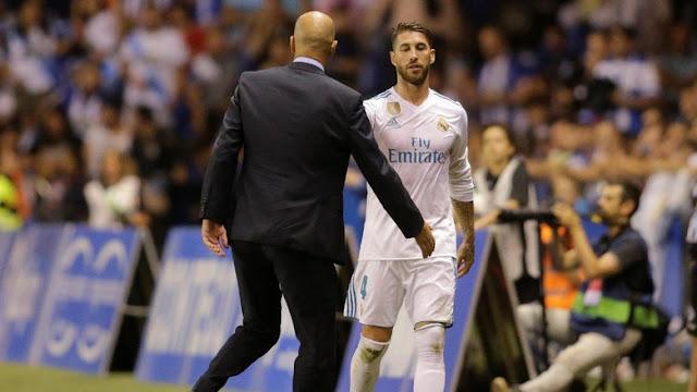 Sergio Ramos, Pemain dengan Kartu Merah Terbanyak di La Liga