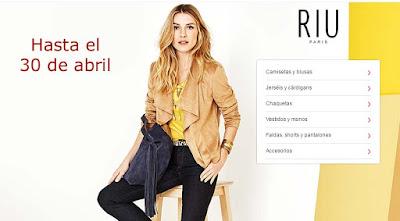 ropa para mujer en oferta de la marca Jacqueline Riu