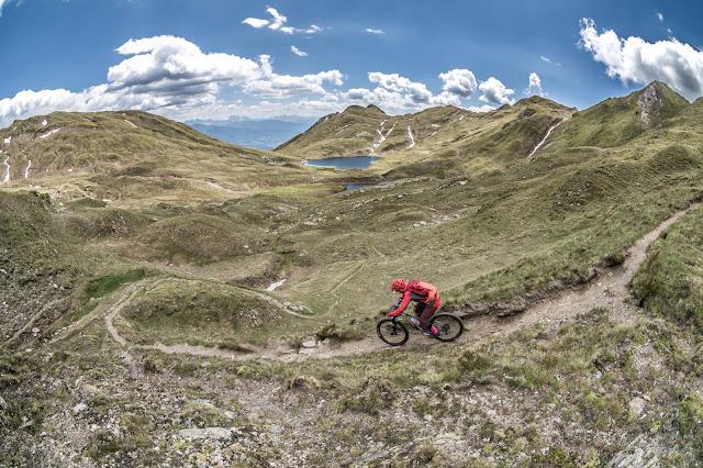 MTB Tour Singletrail Track GPS Seefeldspitze Brixen Südtirol
