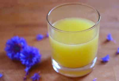 Le Chameau Bleu - Recette du jus de gingembre africain