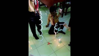 Tujuan percobaan ini adalah untuk mengetahui bahwa energi dapat berubah, energi panas menjadi energi kinetik (gerak).