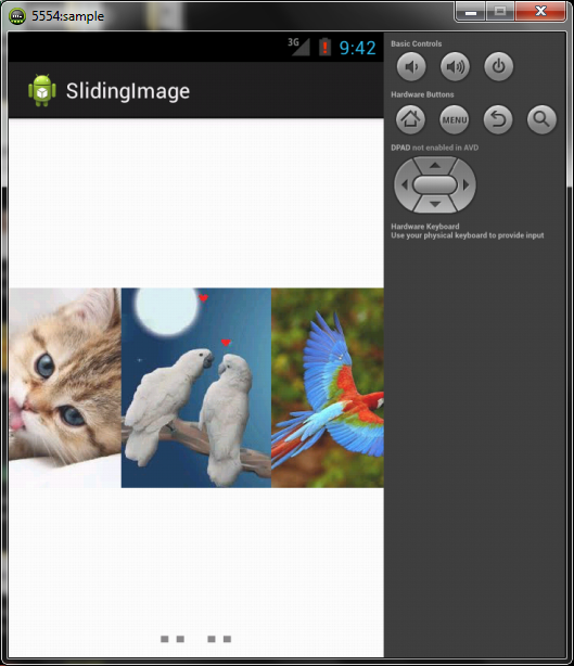 Android Image Slider With Dot Indicator Example [Updated