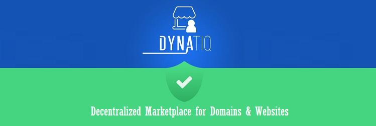 Dynatiq - New Blockchain Based Marketplace for Domains and Websites
